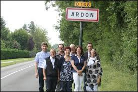 Les habitants de Ardon (Loiret) portent le gentilé ...