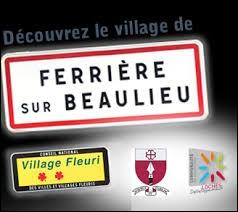 À Ferrière-sur-Beaulieu (Indre-et-Loire), les habitants portent le gentilé ...
