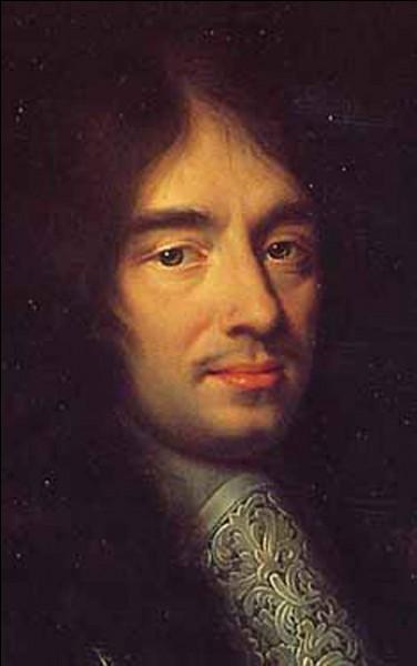 Charles Perrault a été admis à l'Académie française.