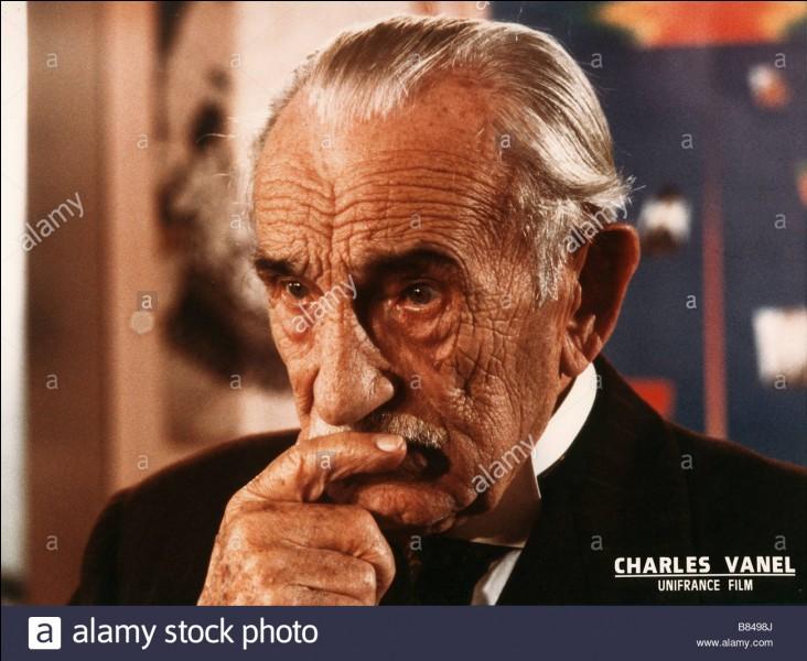 Dans quel film d'Alfred Hitchcock Charles Vanel a-t-il joué ?