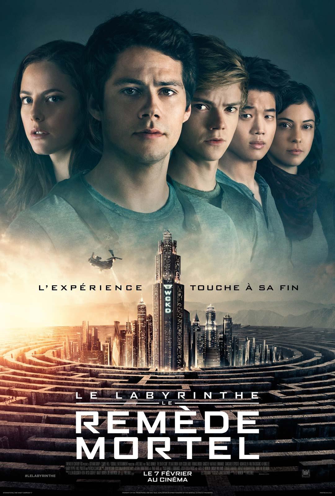'Le labyrinthe 3'- Le remède mortel'