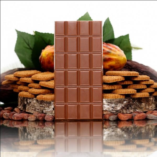 En quelle année ont été créées les tablettes de chocolat ?