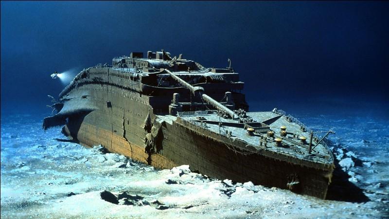 À quelle date le Titanic a-t-il sombré ?