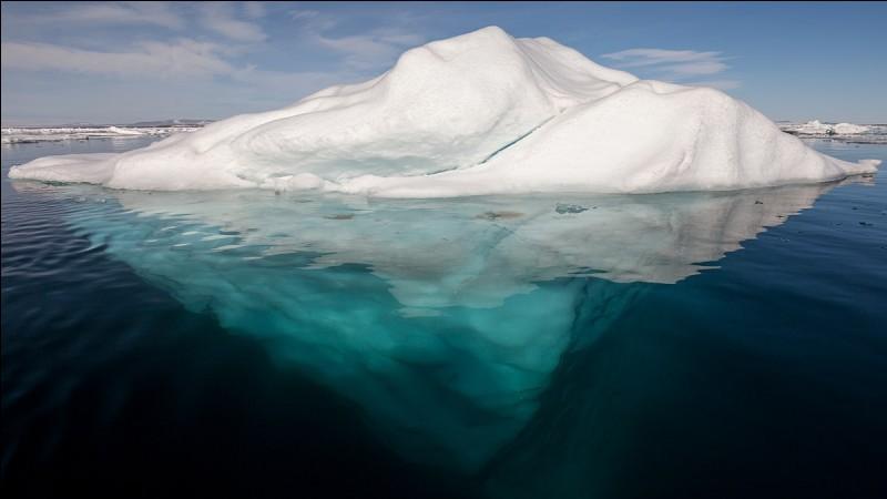 Quelle était la condition climatique au moment du choc contre l'iceberg ?