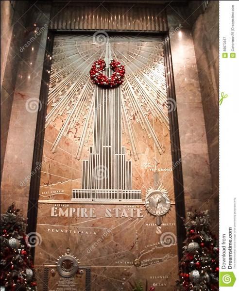 Quelle roche est la plus présente à l'intérieur de l'Empire State Building ?
