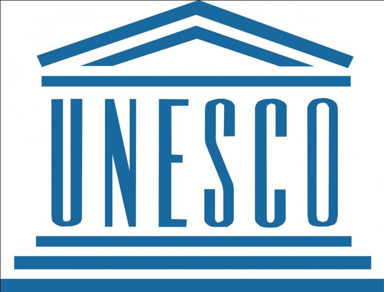 Depuis quand est-il inscrit au patrimoine mondial de l'Unesco ?