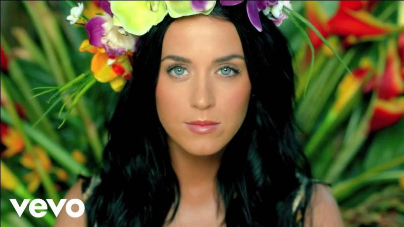 Parmi ces titres, quelle chanson est de Katy Perry ?