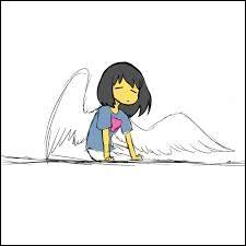 Dans quel A.U. Frisk a des ailes ?