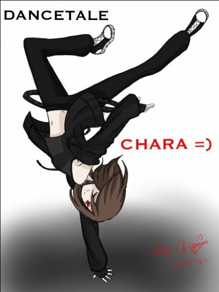 """Dans """"Dancetale"""", quel est le style de danse de Chara ?"""