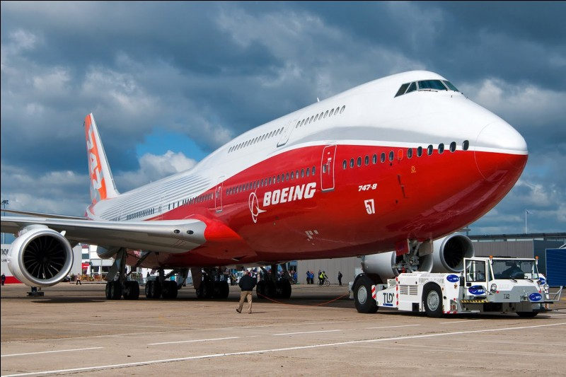 Le premier vol du Boeing 747 date de 1959.
