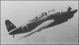 """Appelé """"Judy"""" par les Alliés, mis en service en 1942 et produit à 2000 exemplaires, c'est l'un des bombardiers en piqué les plus rapides de son époque. Des appareils de ce type ont coulé le porte-avions Princeton en octobre 1944. Une dernière version a été destinée aux missions suicides. Quel est cet avion?"""