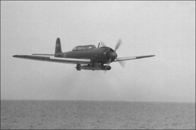 """Nommé Tenzan par les Japonais, et appelé """"Jill"""" par les Alliés, c'est le bombardier-torpilleur standard de la Marine impériale japonaise à partir d'août 1943. Quel est cet appareil ?"""