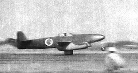 C'est le premier avion à réaction japonais. Inspiré du Messerschmitt Me 262, il est réalisé dans les dernières semaines de la guerre. Le premier vol a lieu le 7 août 1945. Le Japon capitule avant que l'avion soit opérationnel. Quel est cet avion ?