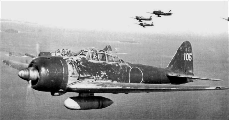 """C'est le plus célèbre des avions japonais, sous le nom de """"Zero"""", et au Japon sous le nom de Reisen : construit à 10 000 exemplaires, ce chasseur-bombardier léger embarqué a été utilisé par la Marine impériale japonaise de 1940 à 1945. Quel est son nom ?"""