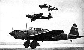 """Appelé """"Mary"""", ce bombardier léger, mis en service en 1938, commença à être utilisé lors de la guerre contre la Chine et resta en première ligne jusqu'au début de 1942. Quel est cet avion ?"""