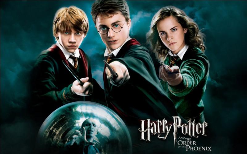 Que font Harry et Hermione ?