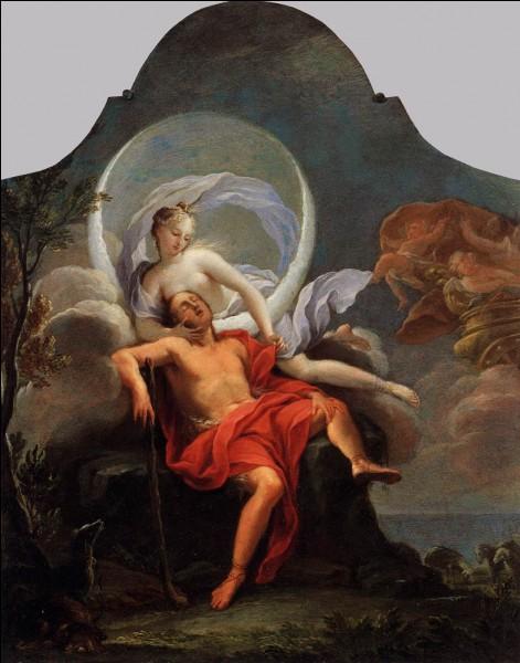 Endymion, fils de Zeus, est condamné à dormir pour l'éternité. Par qui est-il aimé pendant son sommeil ?