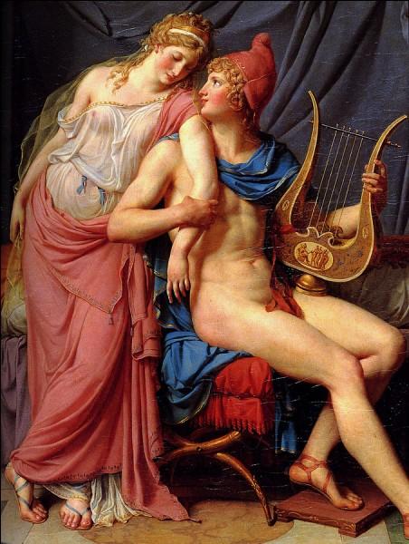 Pâris, amant d'Hélène, est réputé pour...