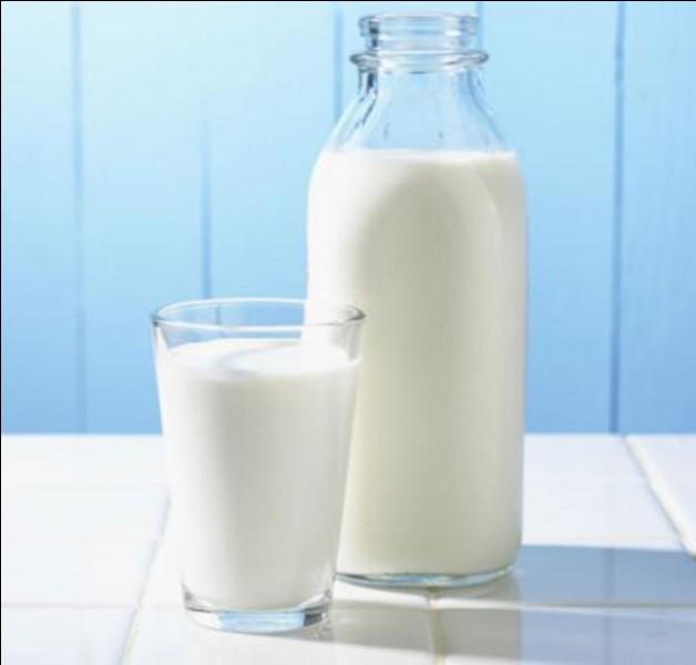 """Comment dit-on """"un verre de lait"""" ?"""