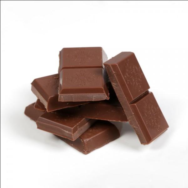 """Comment dit-on """"un morceau de chocolat"""" ?"""