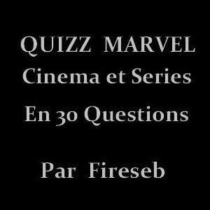 Quizz Marvel (Cinéma et Séries)