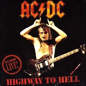 """Le tître culte """"Highway to hell"""" de AC / DC est sorti en ..."""