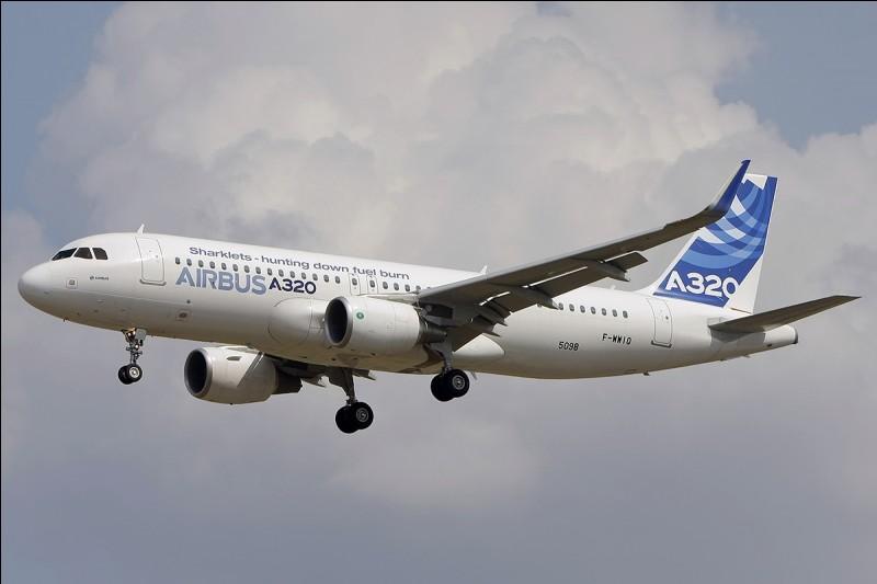 Le premier vol de l'Airbus A320 date de 1987.
