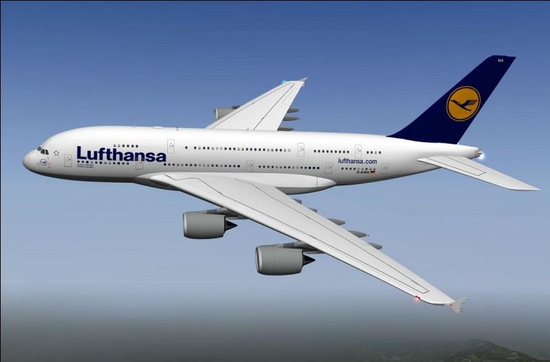 La vitesse maximale de l'Airbus A380 est de 1200km/h.