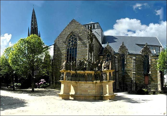 Plougastel, charmante petite ville du Finistère très connue pour ses...