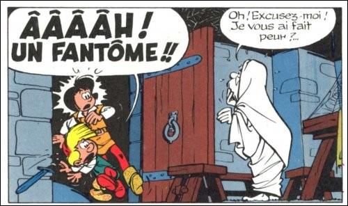 """Quelle est cette bande dessinée dont l'image évoque la peur"""" ?"""