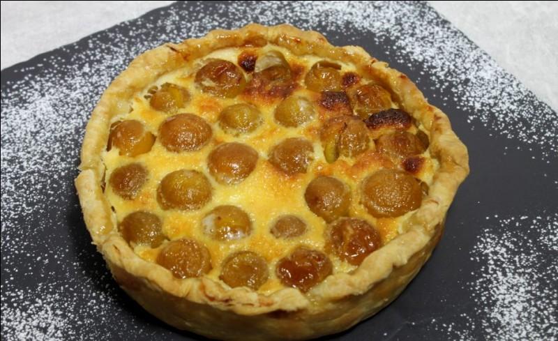 Vous pouvez choisir cette tarte aux prunes, si vous souhaitez !