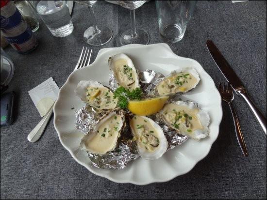 Voici d'autres fruits de mer !