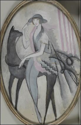 À qui doit-on cette femme avec cheval ?