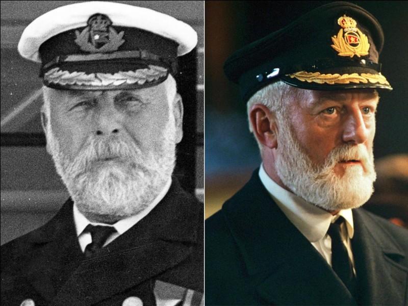 Comment s'appelait le capitaine du Titanic ?