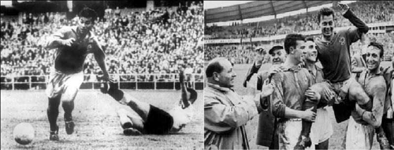 Qu'est-ce qui distingue Just Fontaine des deux buteurs Gerhard Müller et Ronaldo, en Coupe du monde ?