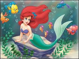 C'est Ariel, la Petite Sirène, mais comment s'appelle son ami le homard ?