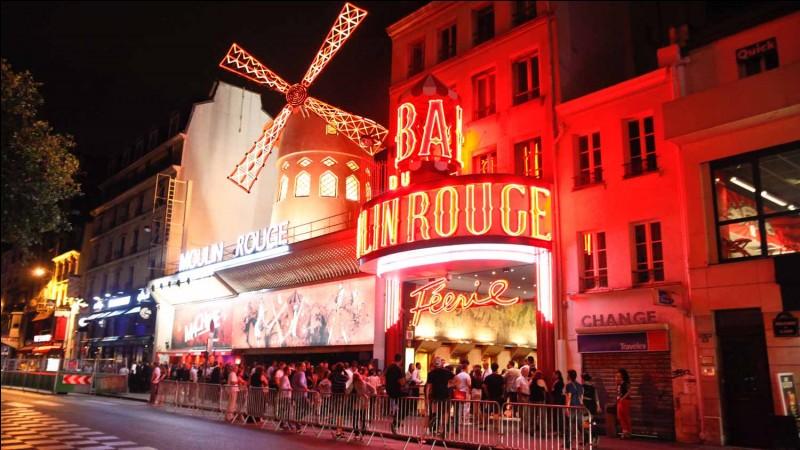 Quel est le nom de ce cabaret parisien célèbre ?