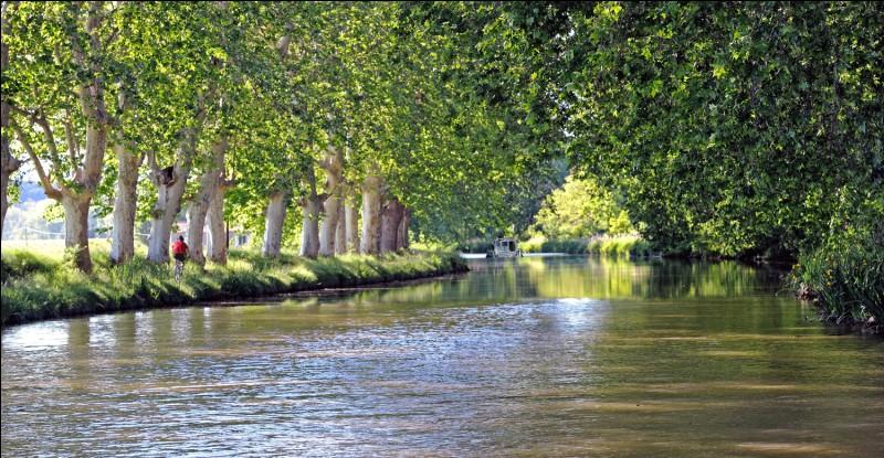 Comment s'appelle le canal qui relie la Garonne à la mer Méditerranée ?