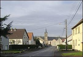 Petit tour en Moselle-Est, à Cappel. Nous sommes dans l'ancienne région ...