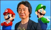Qui a créé Mario ? (indice sur l'image)