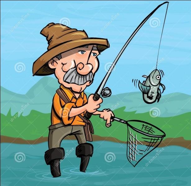J'ai le droit de pêcher dans les mares.