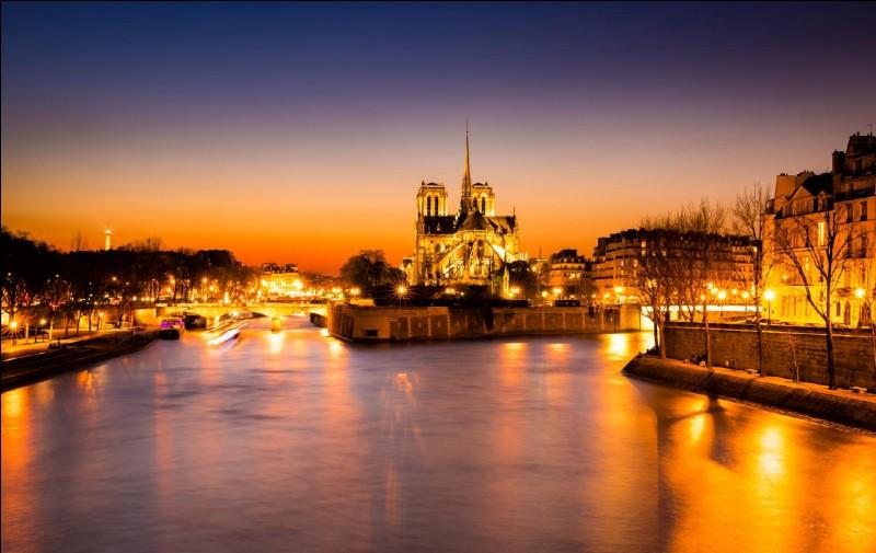 Dans quel département se trouve la ville de Paris ?