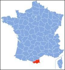 Laquelle de ces villes ne se trouve pas dans le département des Pyrénées-Orientales ?