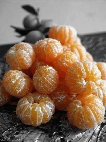 Est-il exact que la mandarine soit, à l'origine, issue du croisement d'un oranger et d'un bigaradier ?