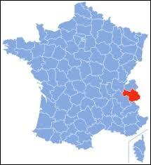 Laquelle de ces villes ne se trouve pas dans le département de la Savoie ?