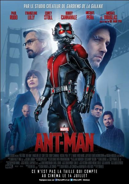 Quel est l'acteur d'Ant-Man ?