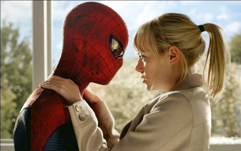 """Andrew Garfield , l'interprète de Spider-Man dans """"The Amazing Spider-Man 1 & 2"""" était en réelle relation avec Emma Stone l'actrice de Gwen Stacy (la petite copine de Spidey."""