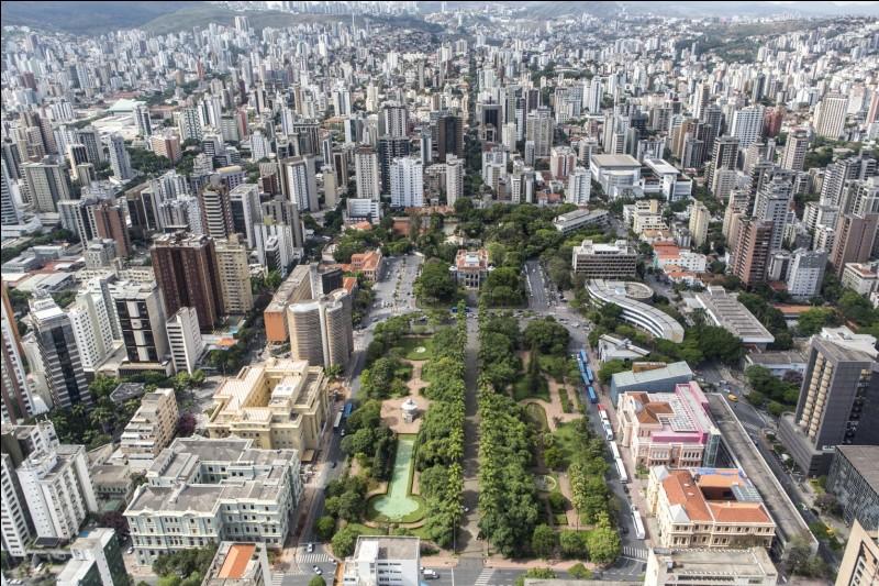 Je fais visiter Belo Horizonte. Dans quel pays se situe cette ville ?