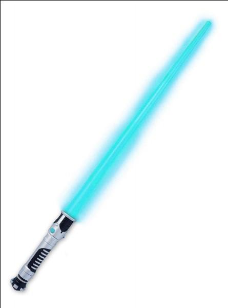 En plus du bleu, du rouge et du vert, quelle couleur de sabre peut-on voir dans ''Star Wars'' ?