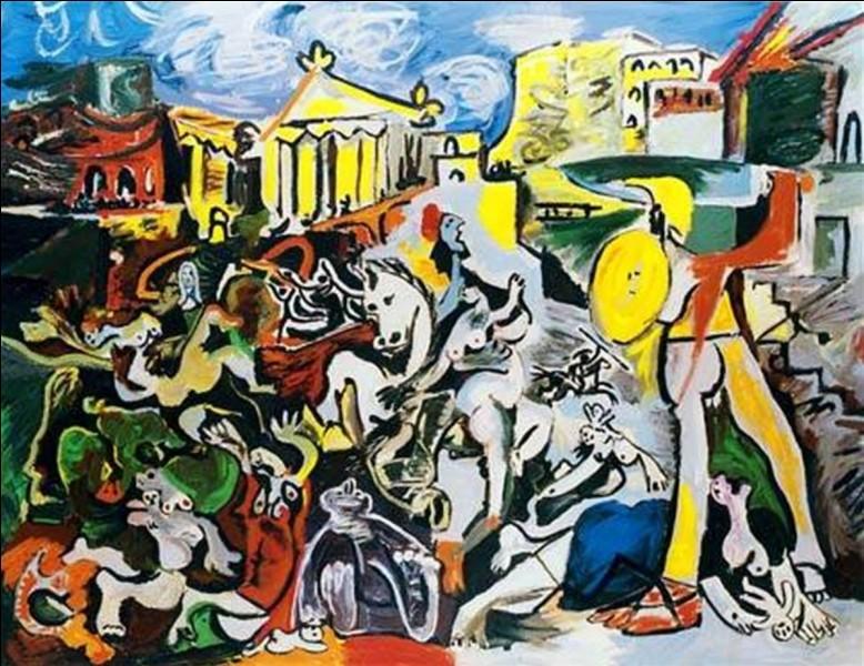 De quelle couleur la période de Pablo Picasso était-elle ?